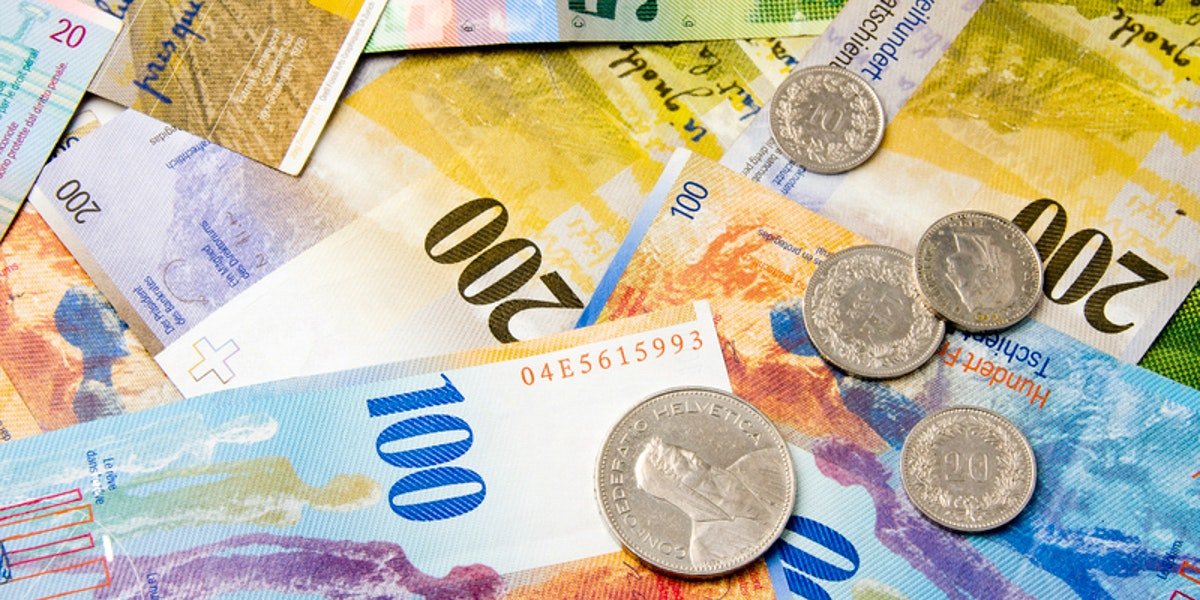 The Swiss Franc And Other Currencies In Switzerland
