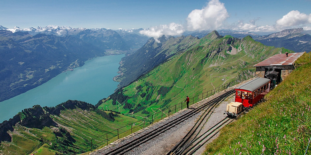 Brienzer Rothorn and Lake Brienz