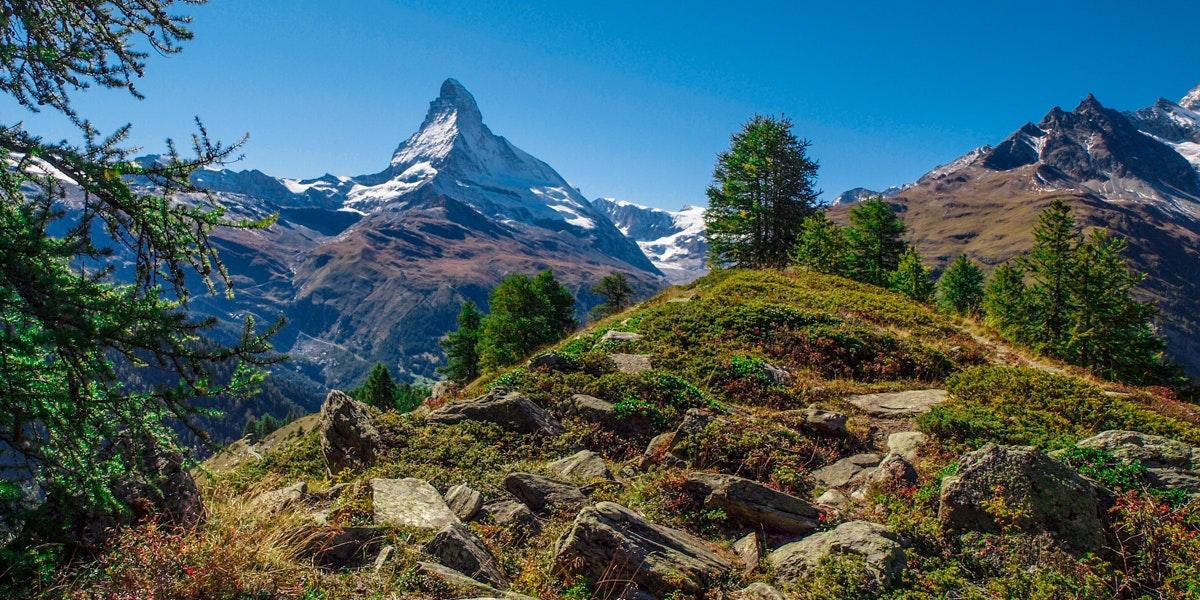 Matterhorn view from Sunnegga