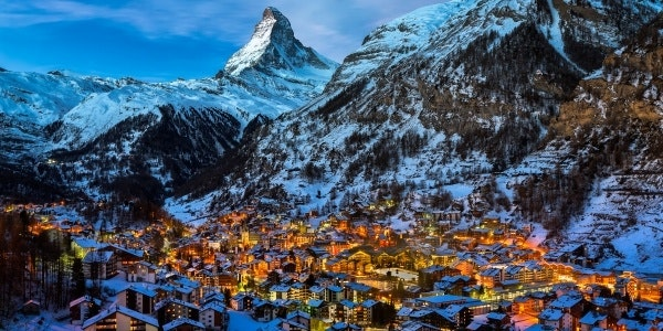 Zermatt winter snow