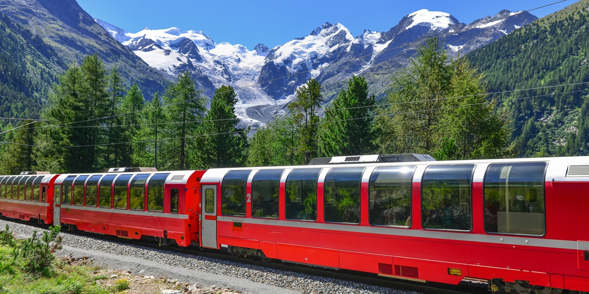 Bernina Express Morteratsch