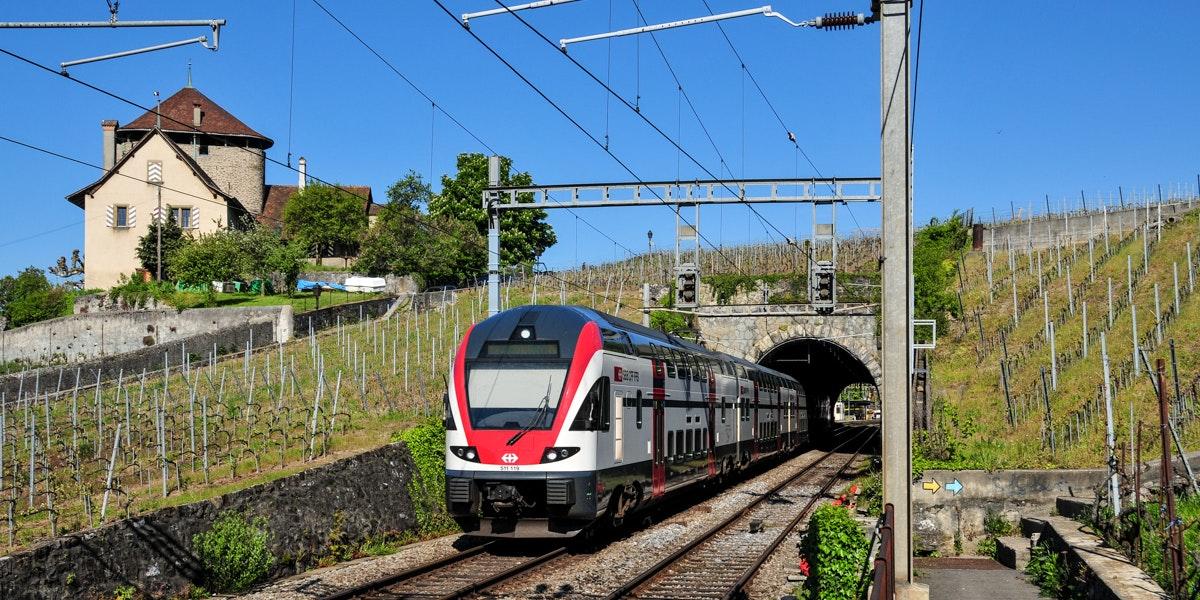 Lutry train