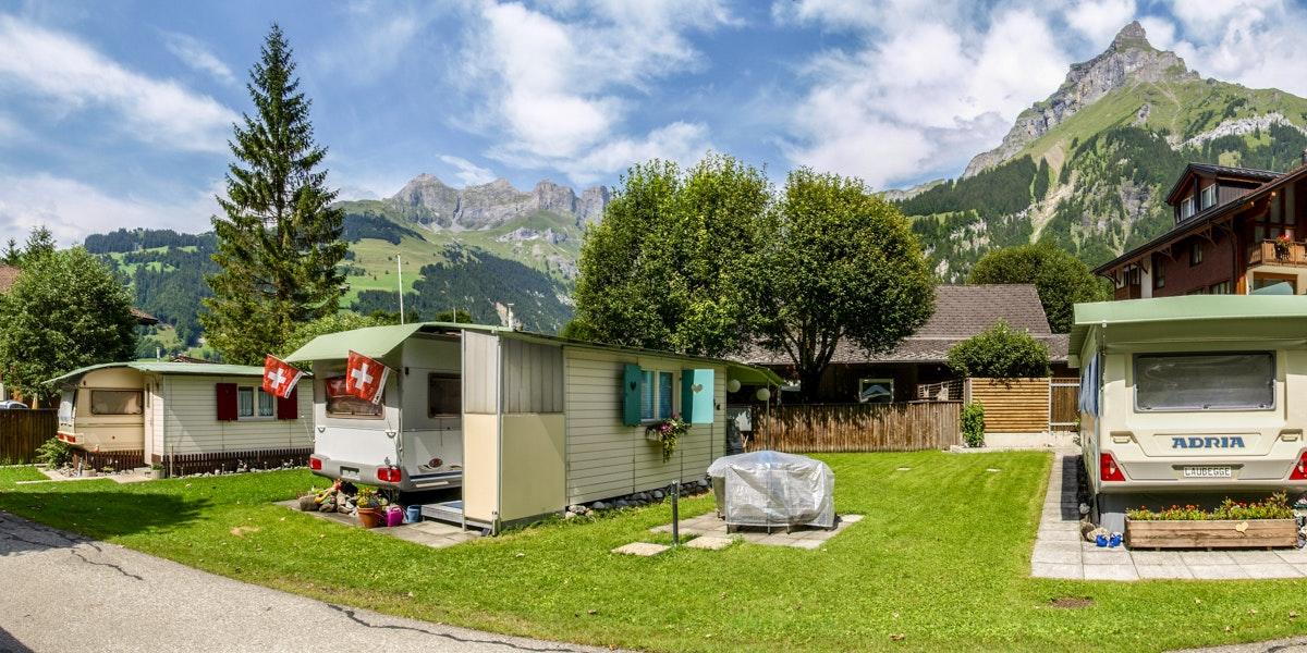 Campsite in Engelberg