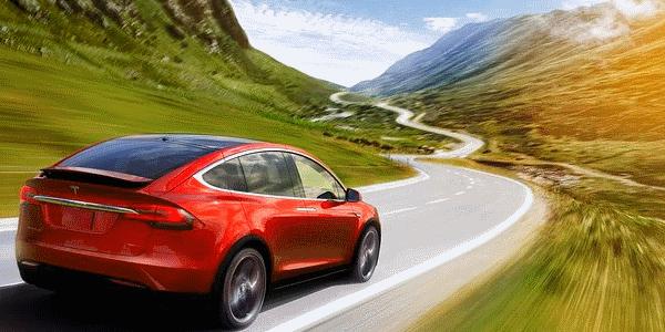 Luxurious car trip Swiss Alps