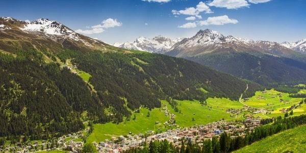 Davos in summer