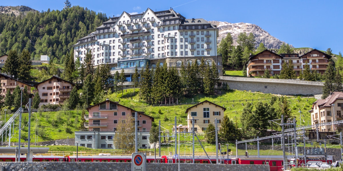 St. Moritz Carlton hotel