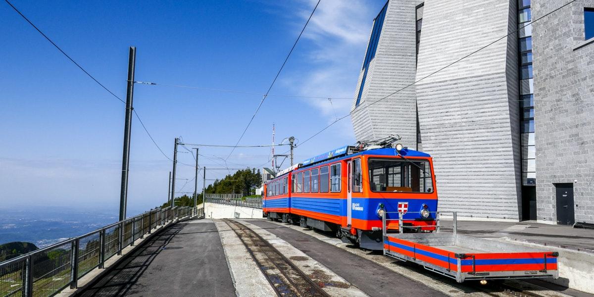 Trein op Monte Generoso