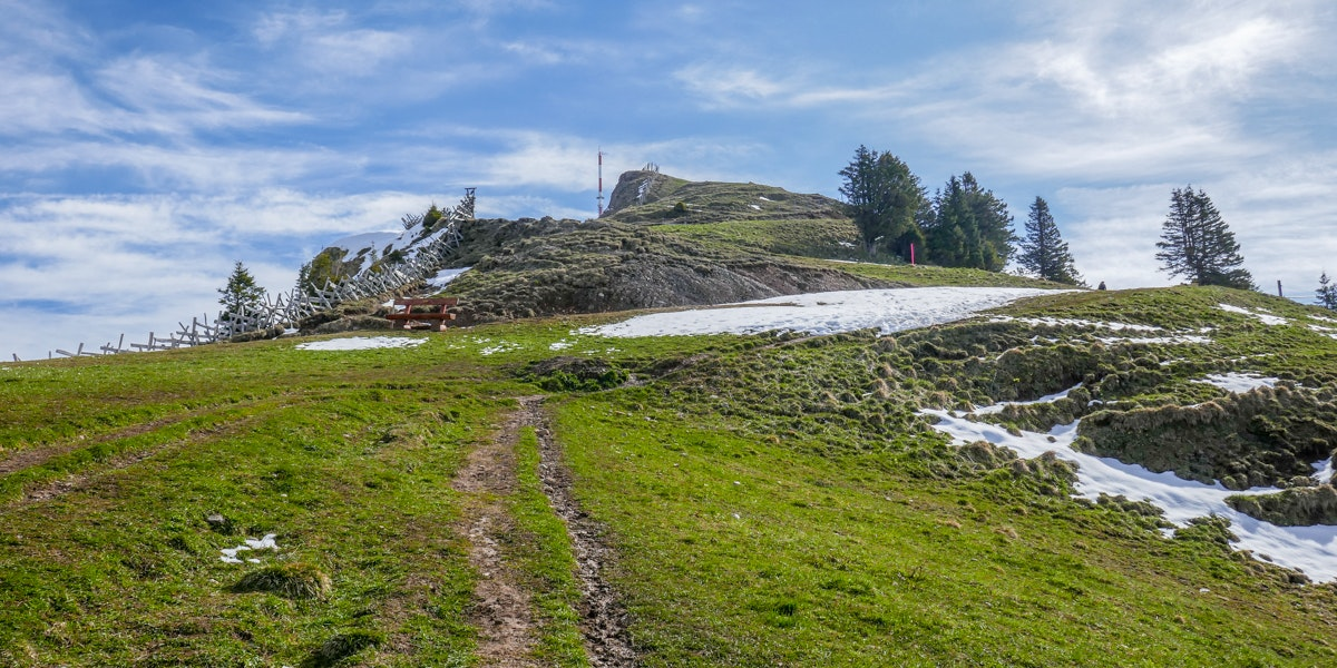 Hiking Mount Rigi