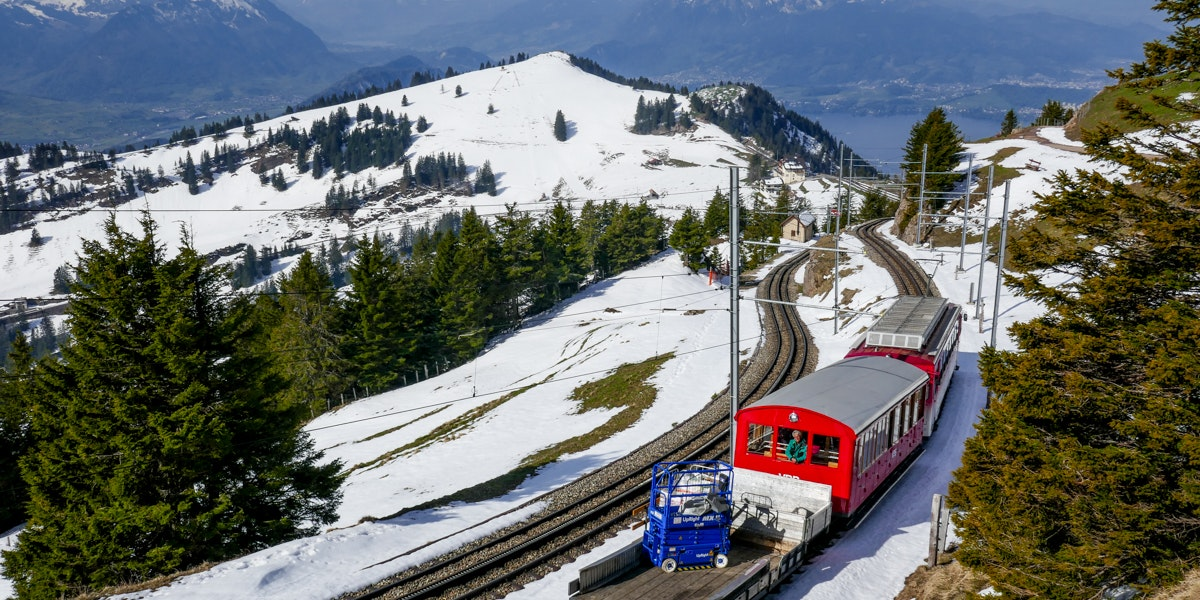 Rigi Staffel train