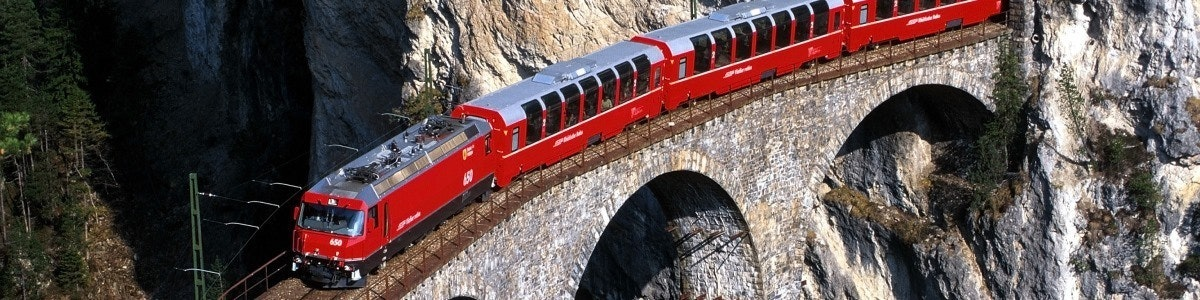 Bernina Express Landwasserviaduct