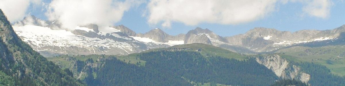 The Rhone valley near Brig