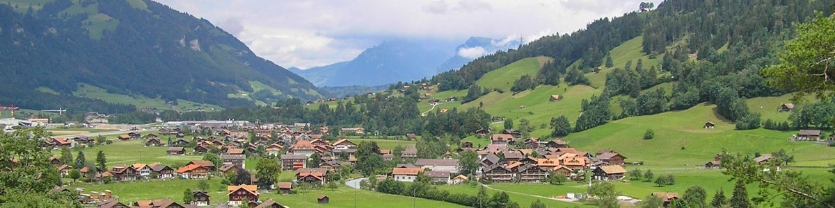 The village of Frutigen
