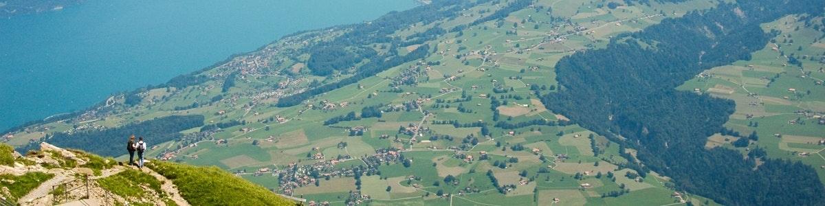 Uitzicht vanaf Niesen