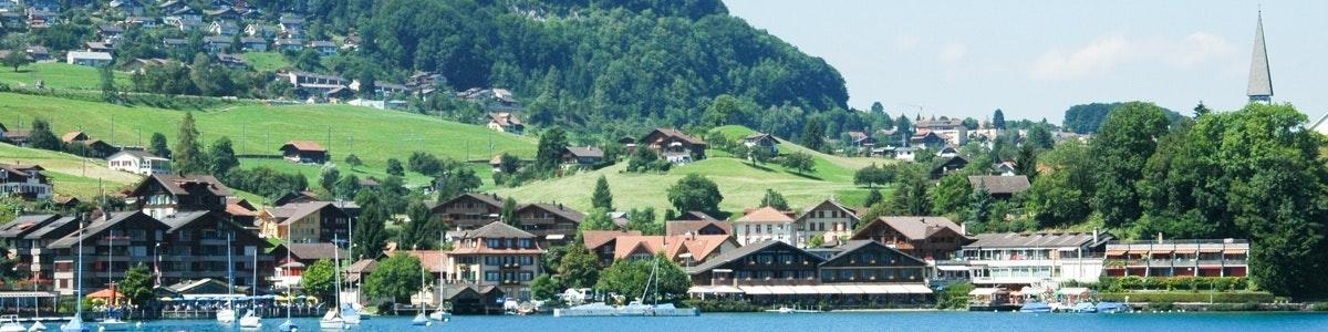 Faulensee along Lake Thun