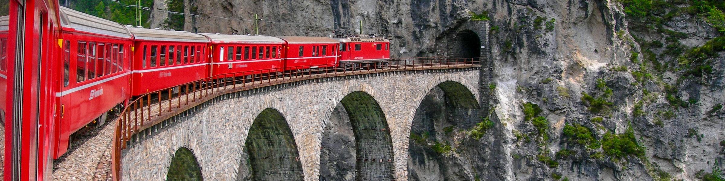 Landwasser viaduct near Filisur