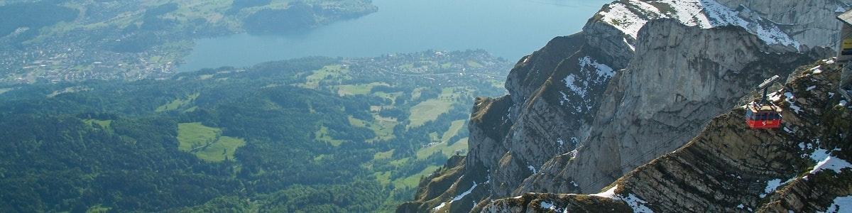 Vierwaldstättersee gezien vanaf Pilatus