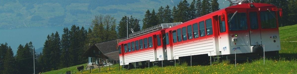 Train at Rigi Staffelhöhe