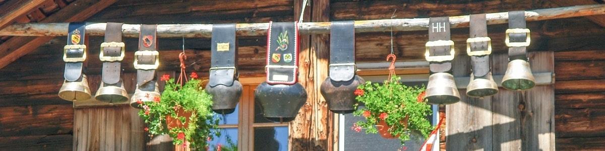 Koeienbellen bij Grütschalp