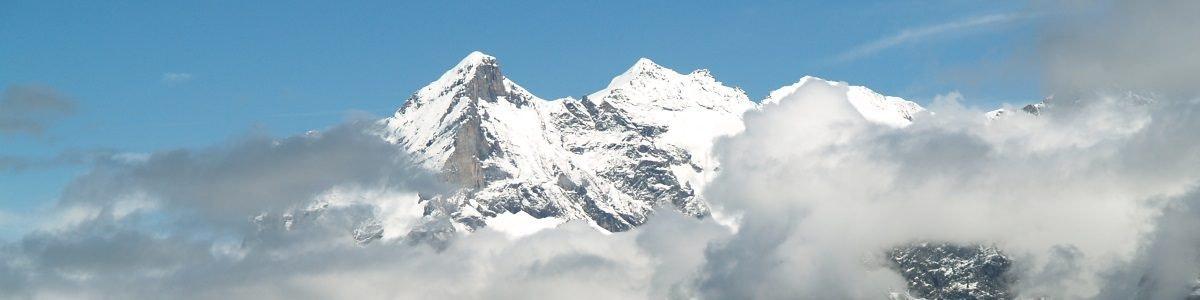 Wetterhorn vanaf Kleine Scheidegg