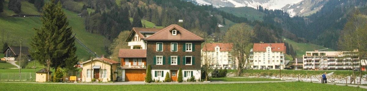 Het dorp Engelberg