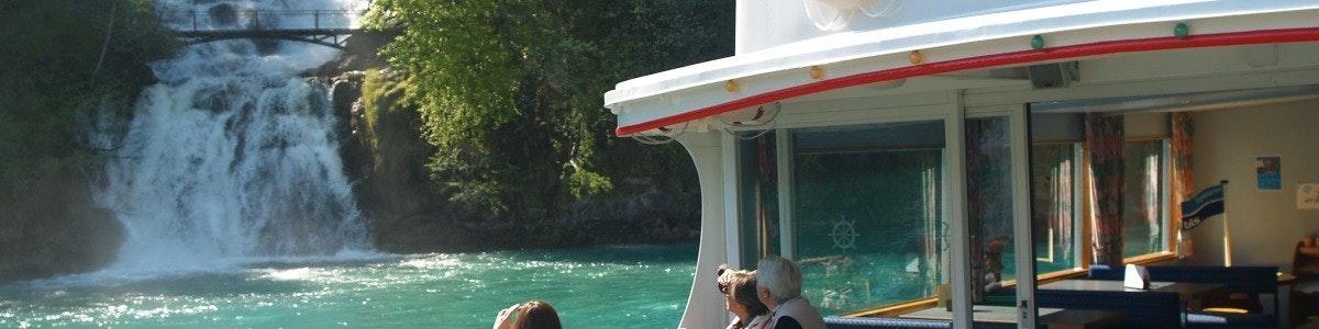 Boot bij Giessbach