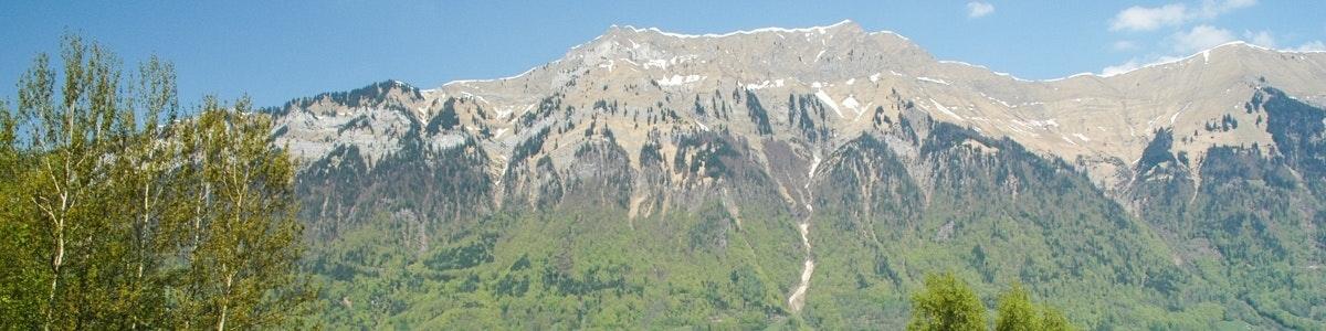 Uitzicht Iseltwald
