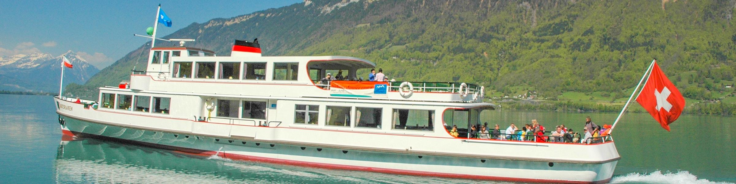 Lake Brienz boat