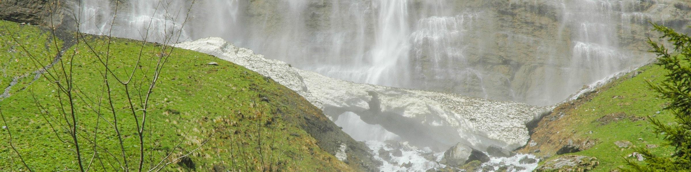 Onderkant van de Staubbachfall