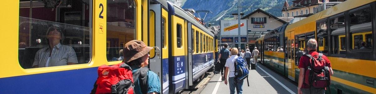 Station van Grindelwald