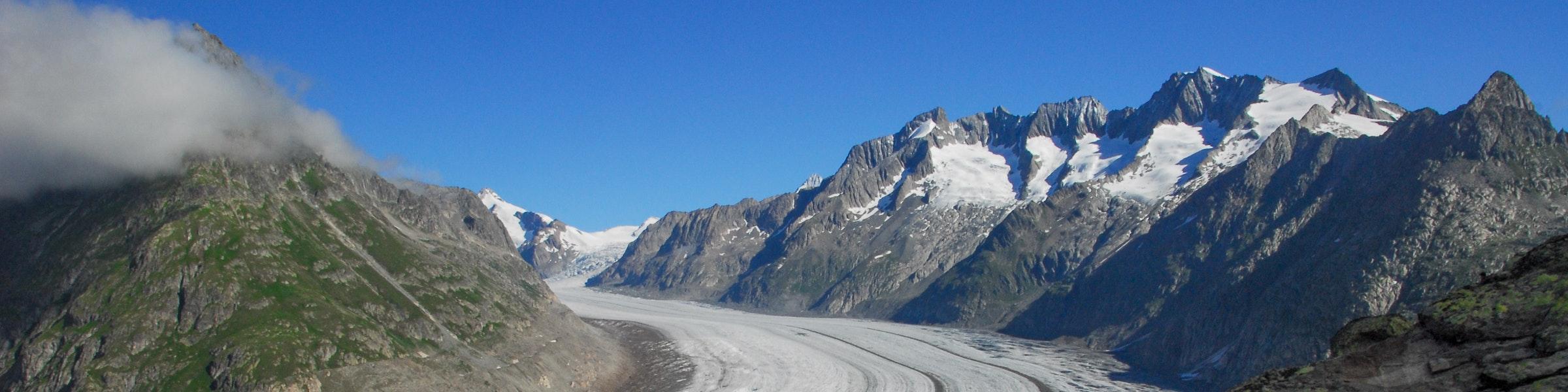 View Aletsch Glacier