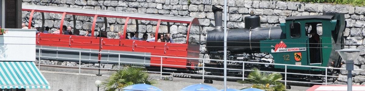 Train to Brienzer Rothorn in Brienz