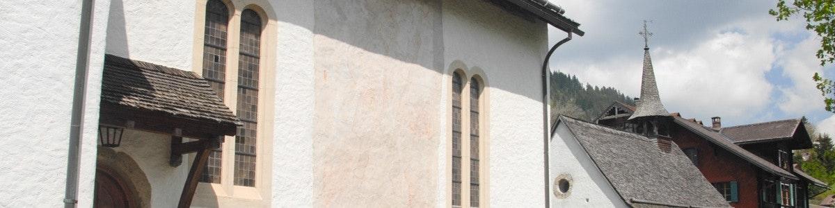 Kerk in Saanen