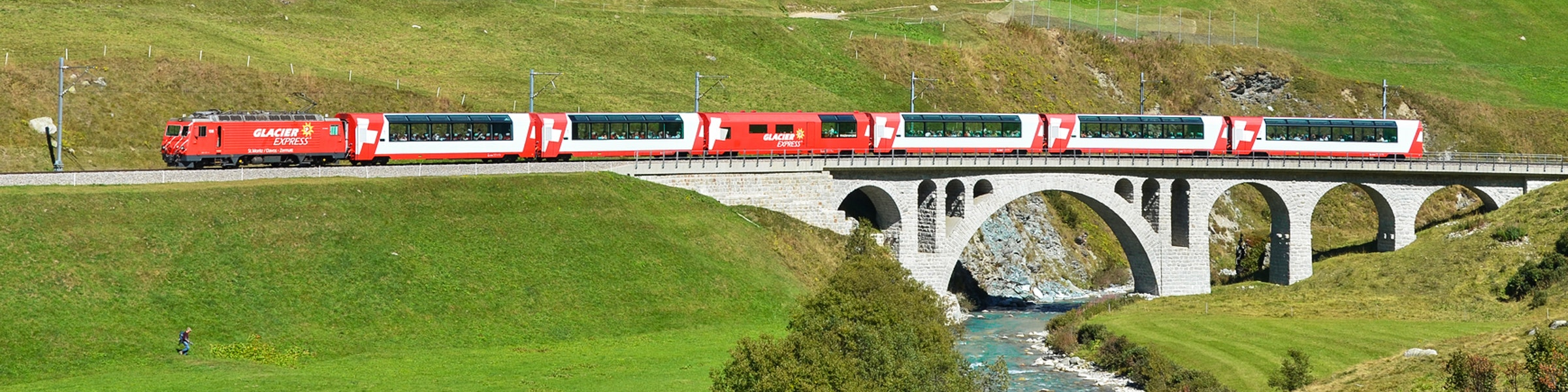 Glacier Express near Hospental