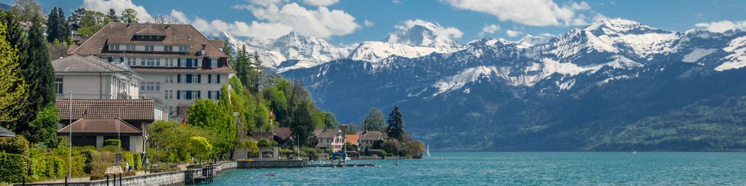 Lake Thun from Hilterfingen