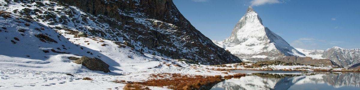 Matterhorn en Riffelsee