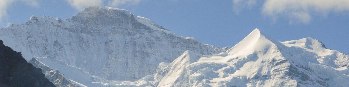 Jungfrau vanaf Wengernalp