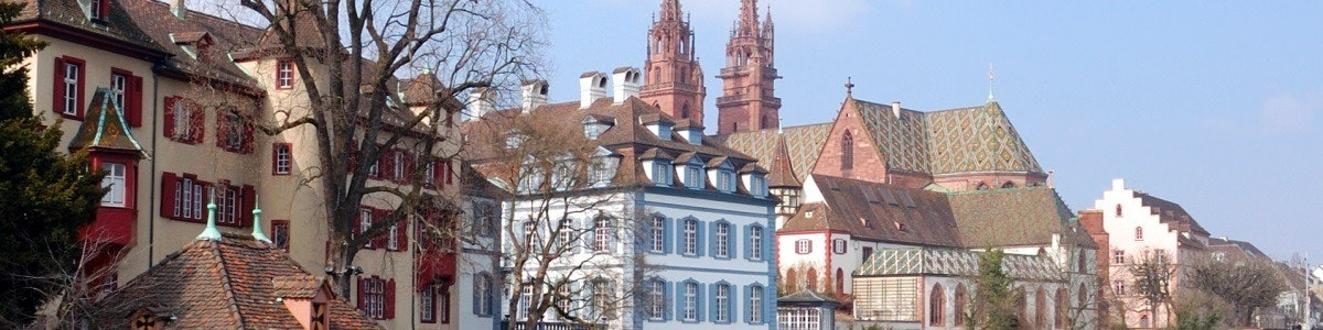 Basel old city and Münster