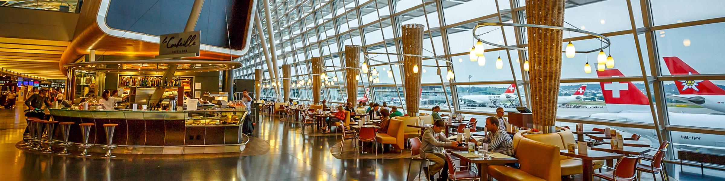 Zurich airport terminal
