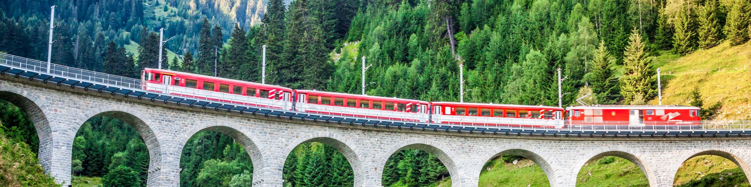 Matterhorn Gotthard train