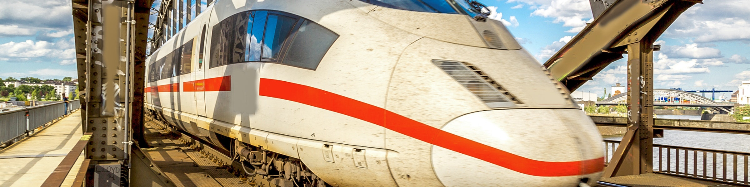 InterCity Express in Frankfurt