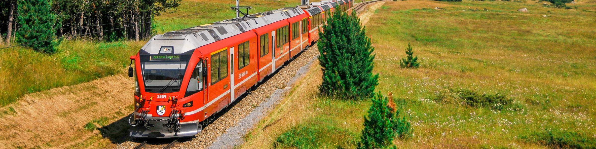 Bernina Express Pontresina