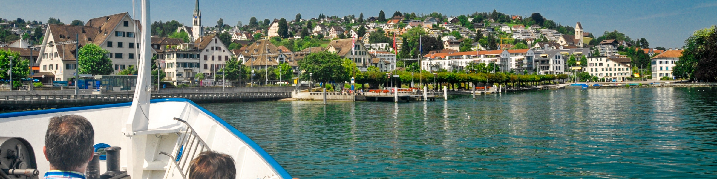 Boat trip on Lake Zurich