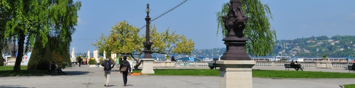 Geneva boulevard Genève-Paquis