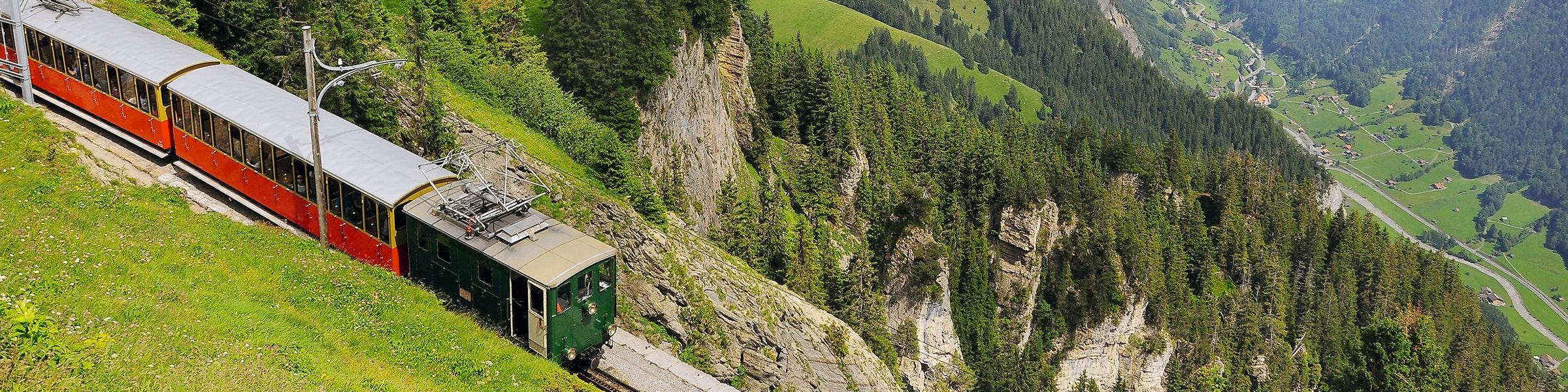 Schynige Platte train