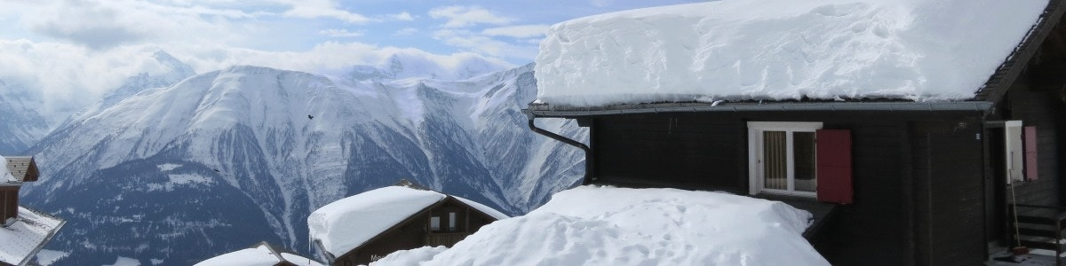 Sneeuw Fiescheralp