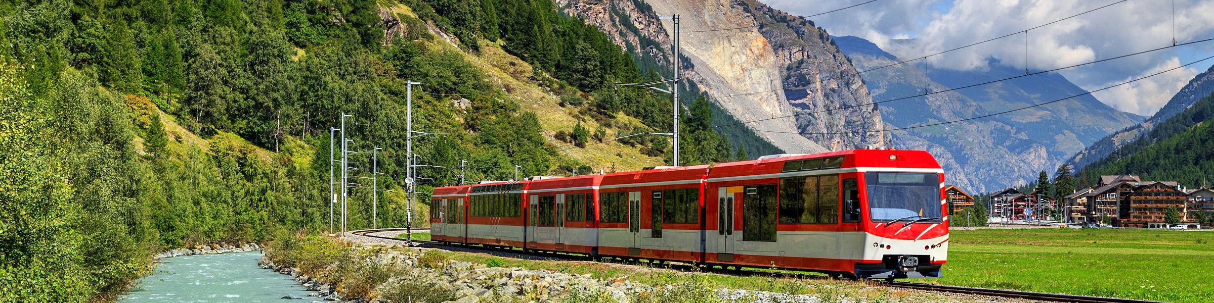 Täsch Zermatt trein