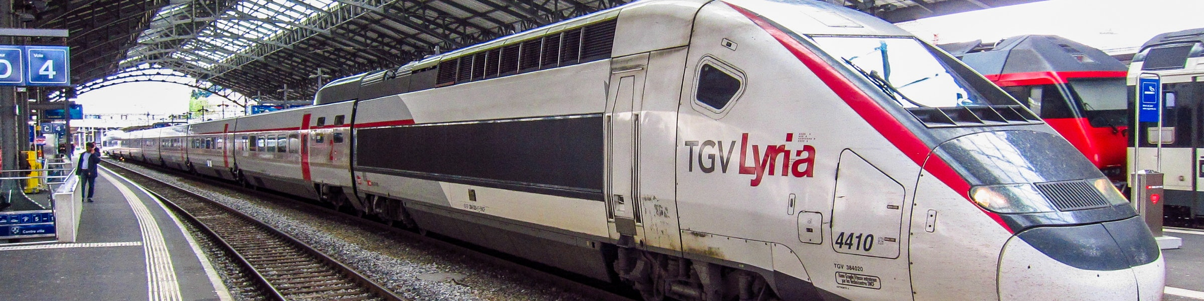 TGV Lyria train Lausanne