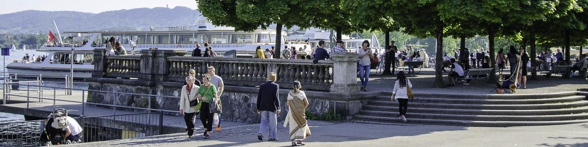 Zürich Bürkliplatz