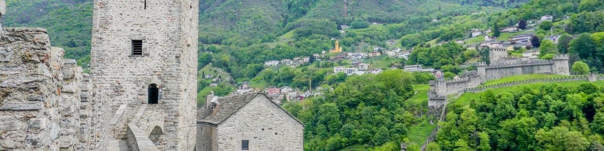 Montebello castle in Bellinzona