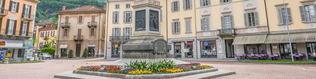 Piazza Indipendenza in Bellinzona